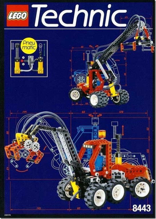 Lego Technic 8443