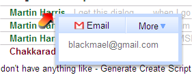 Gmail new UI - Most evil feature