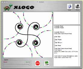 XLogo screenshot