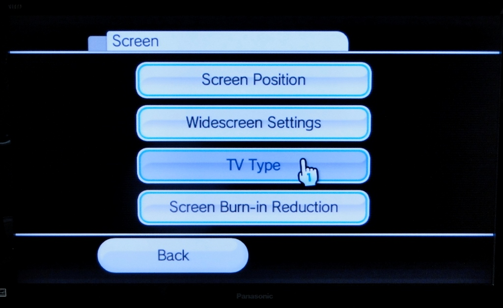 resolution nintendo tv wii